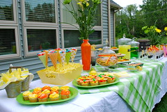 Citrus Themed Dessert (heavenbornangel2) Tags: party orange green yellow table cupcakes lemon limegreen lemonade theme soda citrus lime chalkboard lemonandlime partytable citrustheme