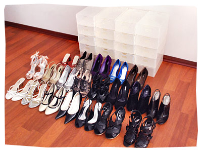 BenjiBox Clear Shoe Box - 20 Box Pack