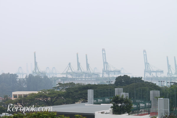 the haze is back!