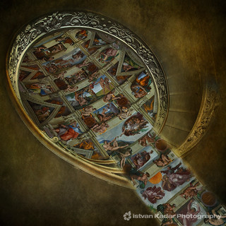 Nine scenes from the Book of Genesis
