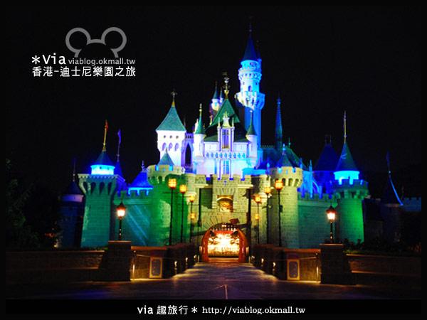 【香港旅遊】跟著via玩香港(2)~迪士尼萬聖節夜間遊行超精彩!21