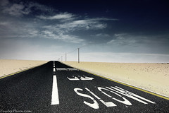 SLOW (A.alFoudry) Tags: road wood blue sky clouds speed canon way eos sand power slow traffic desert path mark down line full frame 5d kuwait fullframe ef kuwaiti q8 abdullah عبدالله mark2 1635mm الكويت كويت    kuw q80 q8city xnuzha alfoudry الفودري abdullahalfoudry foudryphotocom mark   5d   canoneos5d   mk   canoneos5dmark   canonef1635mmf28l   f28l  