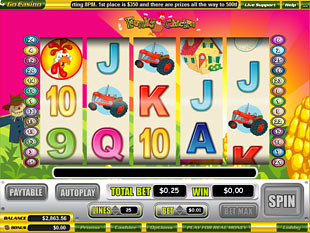 Funky Chicken slot game online review
