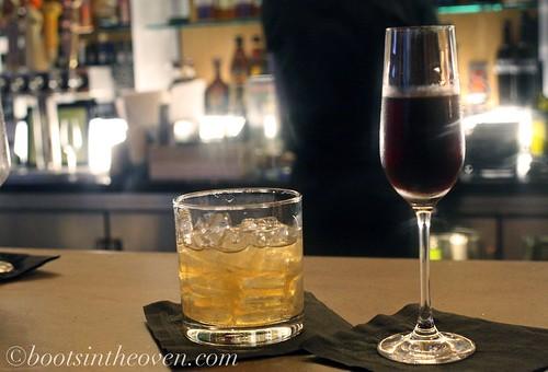 Cointreau Noir and Lillet Rouge