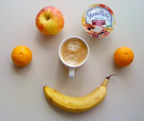 Landliebe Müsli, Apfel, Banane & Clementinen