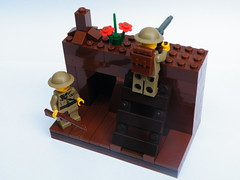 Not forgotten (The Brickologist) Tags: lego brodie 11 poppy worldwar1 flanders appeal thesomme passchendaele 111918 legoww1