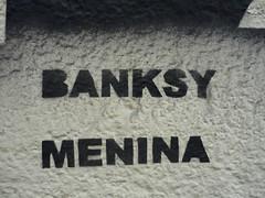 Banksy Meninas firma