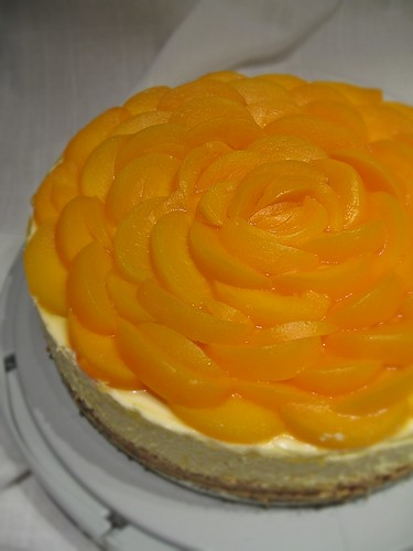 Orange cheesecake (nonbaked)