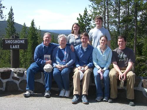 McKeown family at Yellowstone Park, May 2007