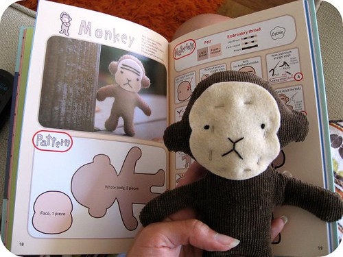 big monkey with his Cute Book counterpart