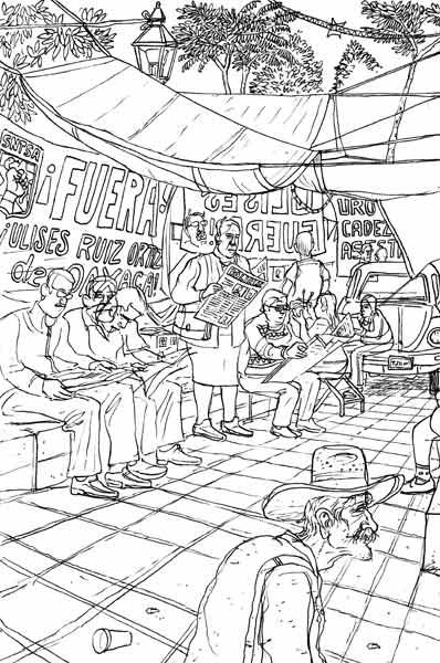 OAXACA SKETCHBOOK By Peter Kuper