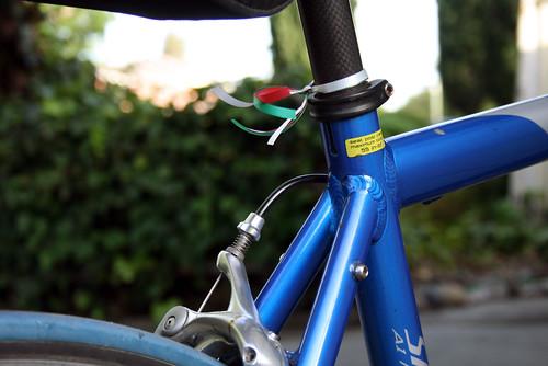 Italian colored ribbons