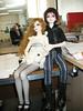 My little desk companions for the day (endorwitch) Tags: dolls swift dreamofdoll bjds balljointeddolls narae lahoo asianballjointeddolls narincreative koreandolls dotlahoo ellatriste