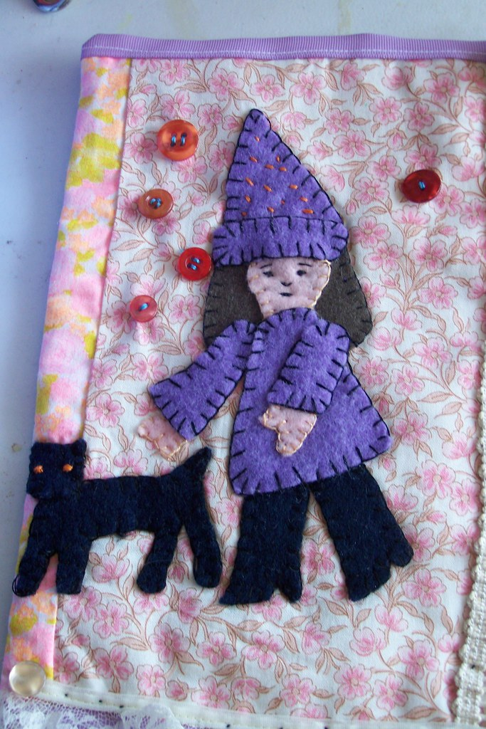 Witch mini-quilt