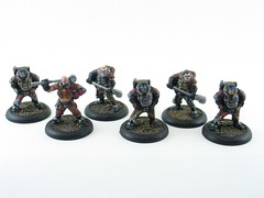 Mechaniks (zahns_hc) Tags: warmachine paintedminiatures