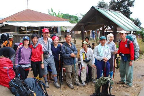 Gp.photo at Sembalun Lawang village starting pt.