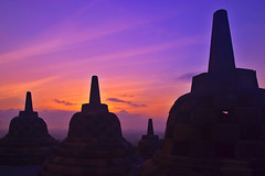 Morning @ Borobudur (Ruel Tafalla) Tags: indonesia borobudur centraljava excellentcapture