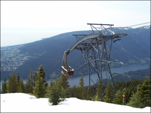 Grouse Mountain cable car, Vancouver