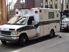 Gotham General Hospital ambulance (kedziers) Tags: city chicago dark august funeral heath batman knight gotham darkknight 2007 tdk rfk ledger gothamcity heathledger rorysfirstkiss