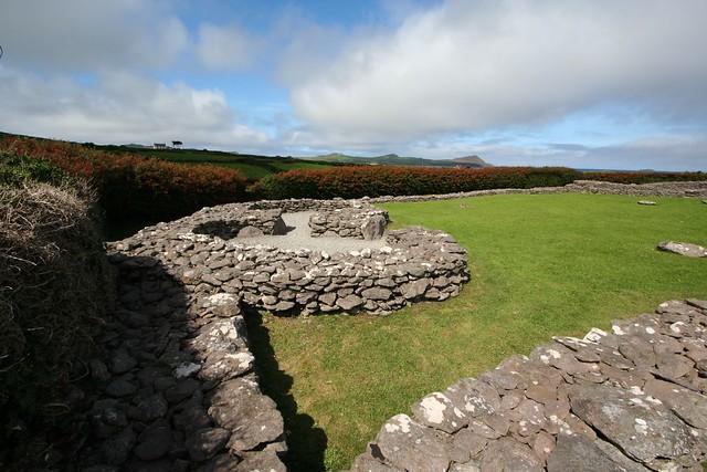 clochans (monastic huts)