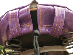 Straps, springs and drawstring