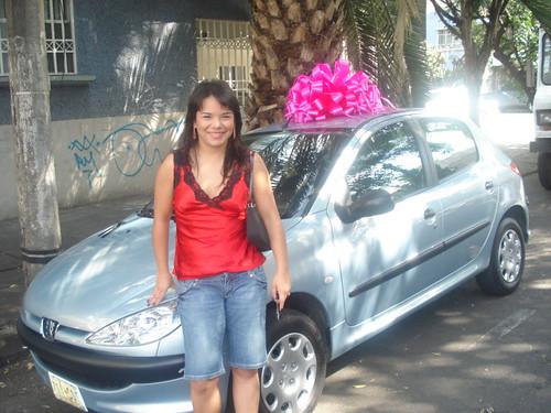 Este es mi nuevo auto