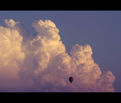 | F r e e d o m | ( toma ) Tags: sunset sky clouds canon freedom flying bravo hungary alone air balloon lonely eos10d pcs balloonfestival cumulonimbus naturesfinest toma01 supershot superaplus aplusphoto superbmasterpiece