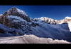 Lech Muggengrat HDR (schoebs) Tags: blue winter white mountain snow ski canon eos border sigma summit handheld 1020mm 2008 hdr slope lech 40d muggengrat