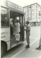 bus ride (The USO) Tags: bw bus photo have rights use historical 1970s uso share extensis extensisphotoshare haverightstouse busridejpg ridejpg