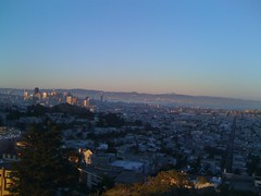 SF Sunset from Tank Hill - 03