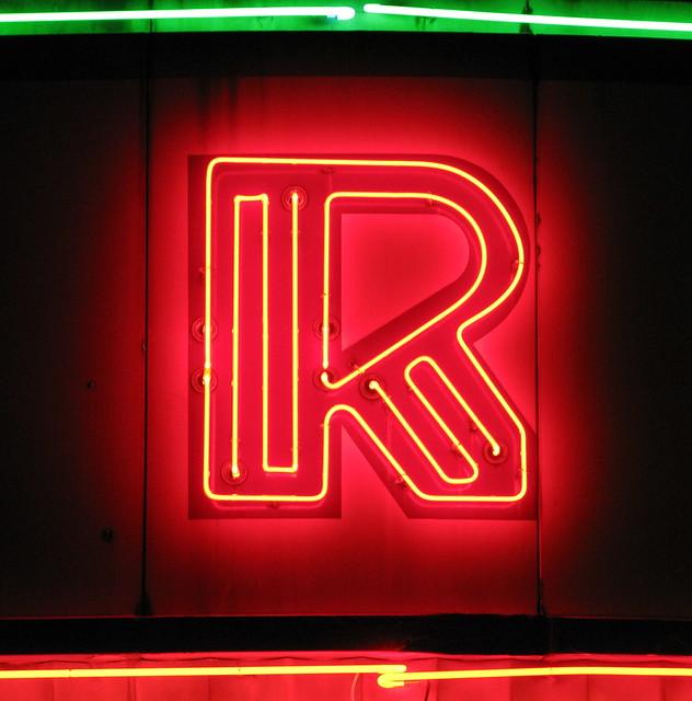 Roxy Theater at Night - Clarksville, TN