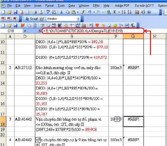 4725914940 7f09b14daa b Một số lỗi khi sử dụng dự toán 97/2009 và cách khắc phục.