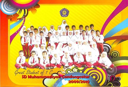 Kelas 1C SD Muh CC 2010