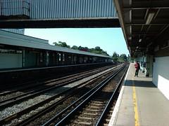 Redhill Station Platform