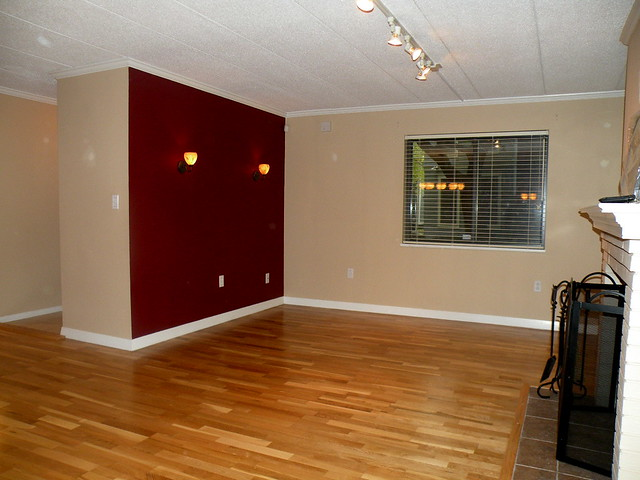 Red Accent Wall Awesome With Red Accent Wall Living Room Picture
