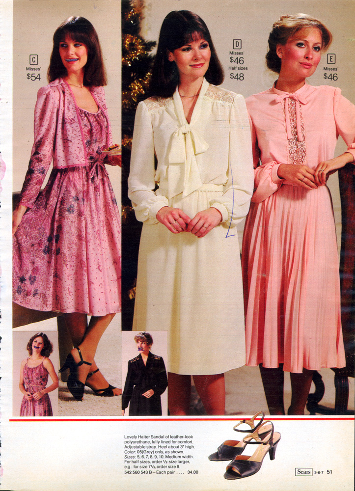 Retrospace: Catalogs #14: Sears Fashion 1981