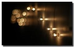 La Luna e'  una Lampadina (Cammino & Vivo Capovolto  Claudio ) Tags: light black dark 50mm focus bokeh sony nero luce lampadina sfocato mistero f17 lampadine monolta