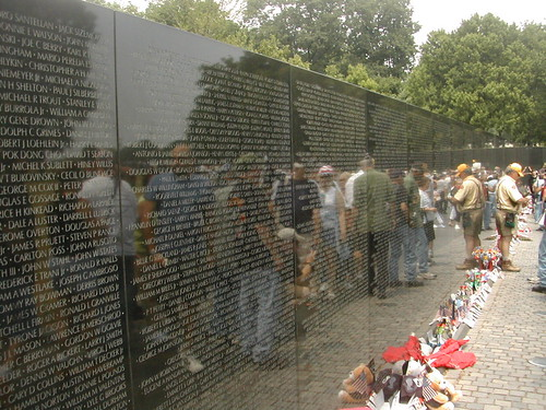 The Vietnam Wall