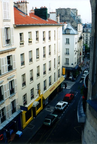 View from the Paris Hotel