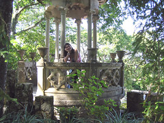 "Quinta da Regaleira - Sintra      ""The beauty of life, is that you don't have to be modernly beautiful to live it."" (Sonia Cardoso Sardinha aka BlueDolphim) Tags: verde portugal quintadaregaleira sintra vila explore quinta bluedolphim meira888"
