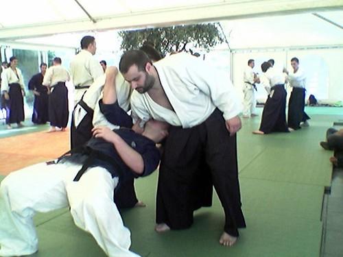 Diego and Alex suffering Pedro's Ninin Dori