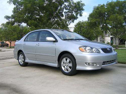 2005 Toyota Corolla Automatic Transmission Fluid Change