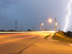lightning on the highway