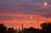 dawn in Chicago (Adam FLiK) Tags: street city morning sky sun chicago color clouds dawn lights early rise flikproductionscom flikproductions adamflikkema