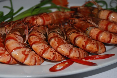 Prawns - Ha Long Bay