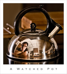 A Watched Pot (Josh Sommers) Tags: reflection pot kettle chrome watched allrightsreserved escheresque damncool weekendamerica twtmeblogged diamondclassphotographer theunforgetablepictures copyrightjoshsommers2007