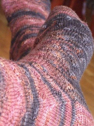 Finished Teosinte Socks (1)