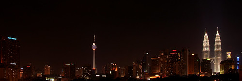 KL Skyline On Merdaka Night