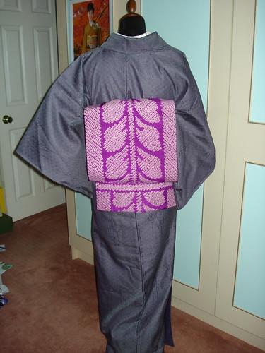 wool kimono back