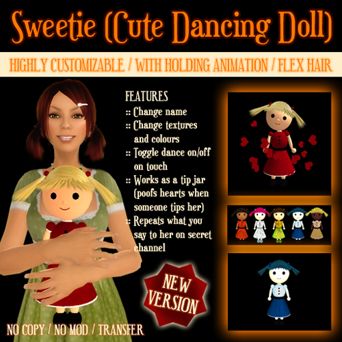 Sweetie (Cute Dancing Doll)